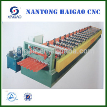 Única camada CNC cor rolo de aço fazendo máquina / metal de folha formando machin