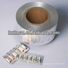 PTP Blister aluminum foil for pharmaceutical use