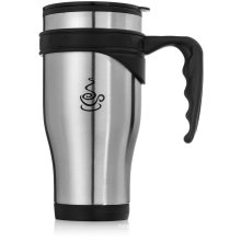 450ml Stainless Steel Travel Mugs with Handle