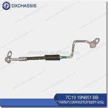 Tubo de entrada do Evaporador dianteiro genuíno Trânsito V348 7C19 19N651 BB