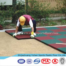 Outdoor sports floor rubber playground mats