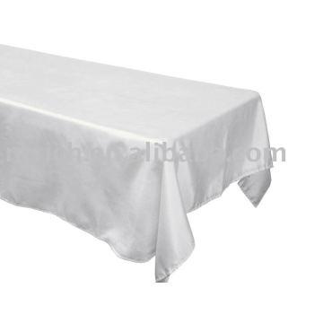 Satin Stoff Tabellenabdeckung, quadratischer Bankett Tischdecke, Hotel-Tischwäsche