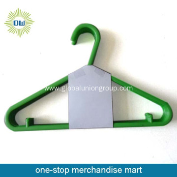 Plastic Clothes Hanger Set