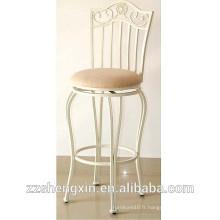 Tabouret / chaise de bar en métal antique