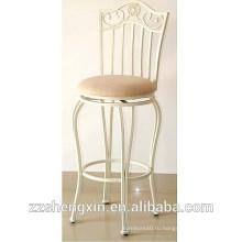 Старинный металлический барный стул / стул