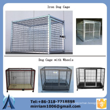 China manufacture direct sale 6' High iron dog cage