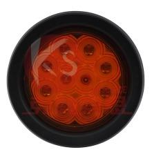 Approuvé DOT 4 pouces ronde queue Stop tourner inverser lumière 2 année garantie étanche