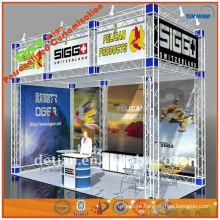 Exibição de carrinho de exposições de carrinho de exibição de treliça portátil carrinho de exposição ao ar livre