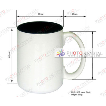 sublimation inner color inside color mugs and cups