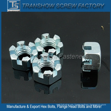 DIN937 Thin Hex Castle Nut