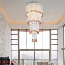 LED Dekoration Kristall Treppen Kronleuchter Pendelleuchte Lampe 92101
