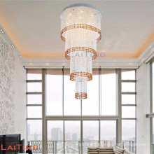 LED decoration crystal stairs chandelier pendant lighting lamp 92101