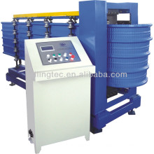 Roof sheets curving machine
