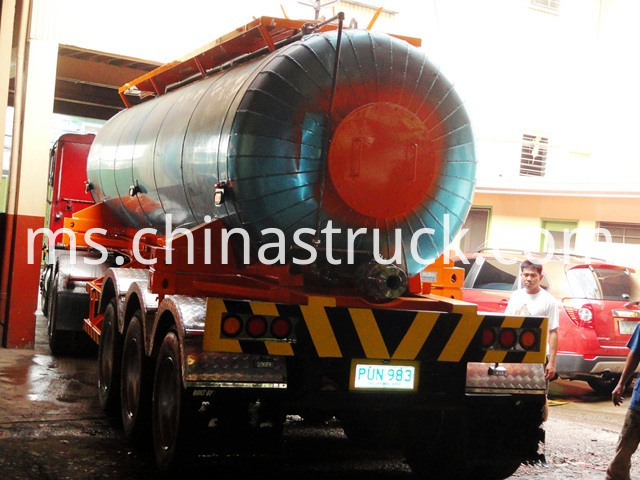 Sulfur Road Tanker Trailer