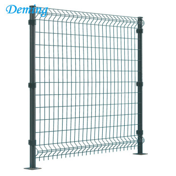 Big Discount for Gardon Fence Anping triangle bending galvanized wire mesh fence supply to Uganda Importers