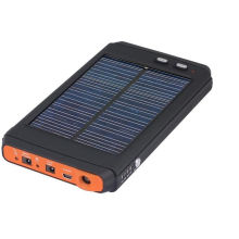 Universal Super Capacity Solar Power Bank Pmc-11200 Use In Pc,tablet Pc, Phone And More