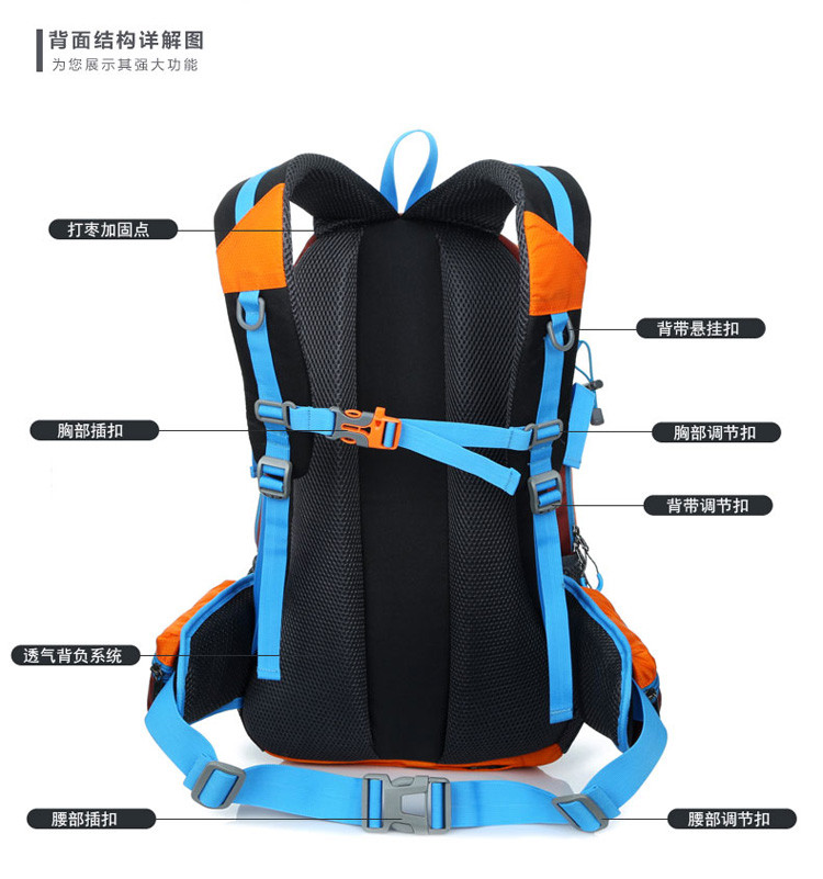 Nylon Fashion OutdoorBackpack
