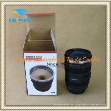 Lente de la cámara de 300ml yo revolviendo la taza de café (Comlom)