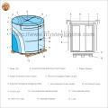 Металлочерепица Используется Prime PPGI в виде стальной катушки с фабрики Цзянсу