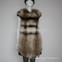 Wholesale Women Winter Waistcoat Vest Fur Vests From China