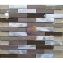 Aluminium Mix Crystal Mosaic Tile (CFA53)