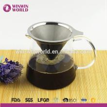 2016 Амазонки полезные подарки Безбумажной washable & многоразовый залить кофе набор с держателем провода