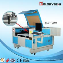 GLS-1080V cámara de vídeo CCD láser de corte de la máquina de marca