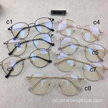 Runde optische Brillen für Damen Lady Optical Frames