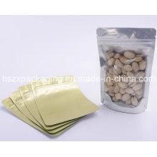 Custom Design Printed Plastic Food Packaging Bag with Clear Window