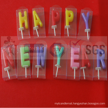 Main Product Birthday Letter Candles