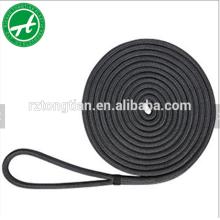 Línea de muelle de nylon trenzado de poliéster 3 hilos