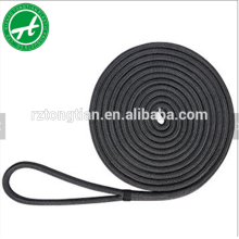 3 strand polyester twisted nylon dock line