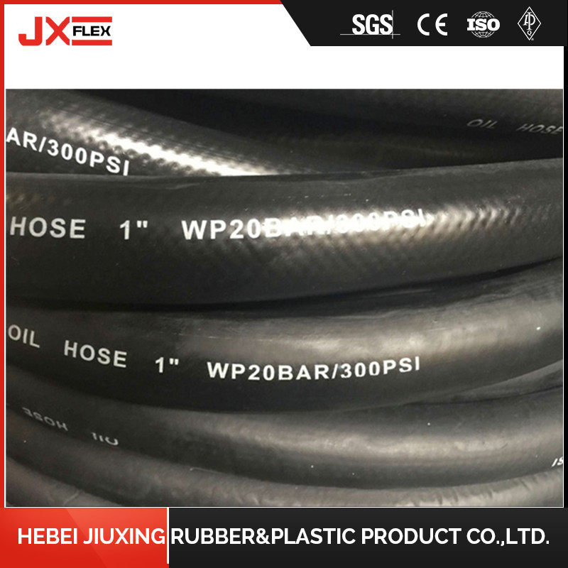 Flexible Hydraulic Rubber Oil Hose