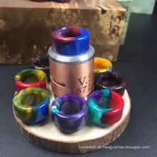 510 Vape Driptip Import Epoxy resina gotas de gotejamento ponta de gotejamento colorido epóxi