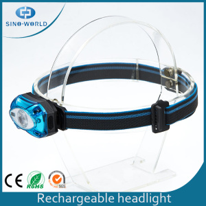 Atacado Built in Battery USB Charging Headlight
