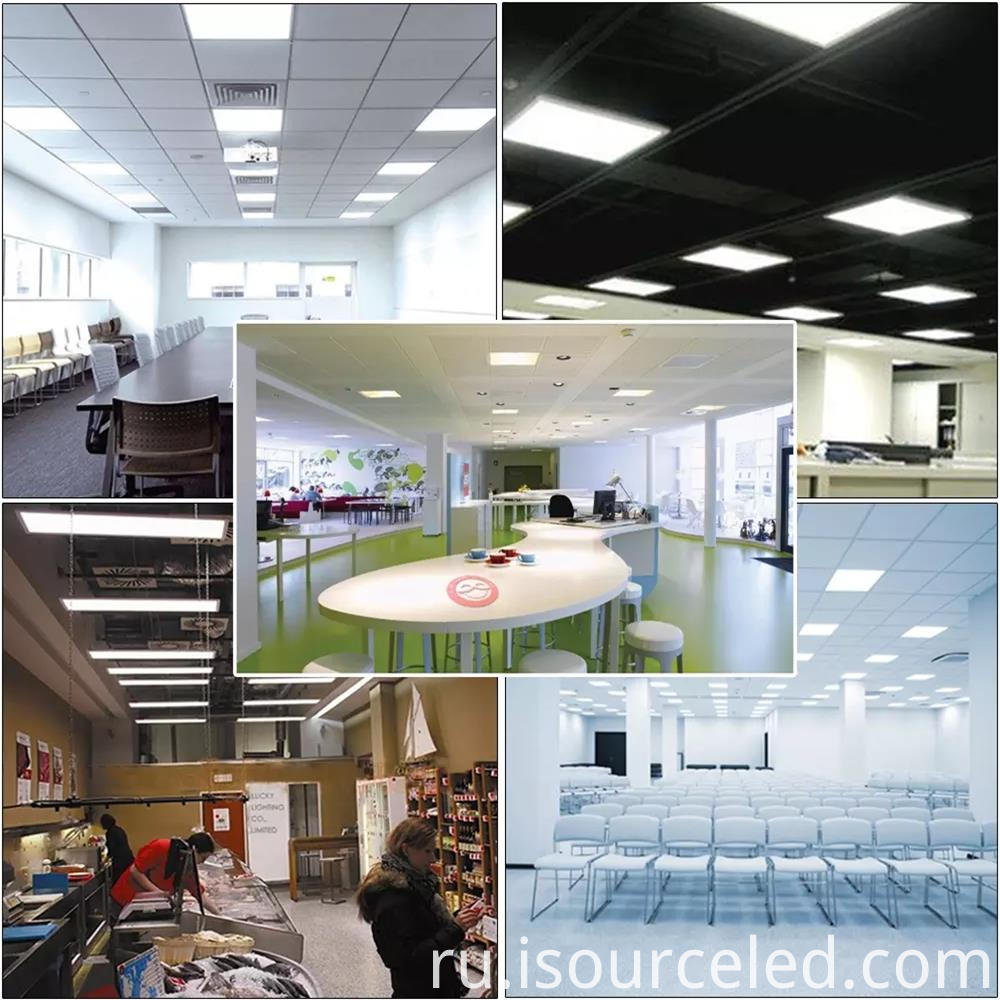 flat panel led shop lights 600x600 saving