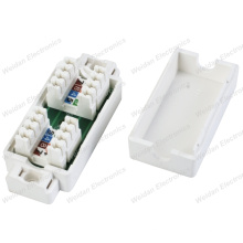 Cat5e IDC 4pair Junction Box Cable Coupler