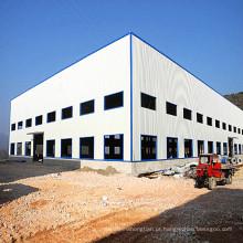 Oficina / armazém pré-fabricados bonitos da construção de aço