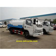 115HP 1800L Camions à gicleurs d'eau
