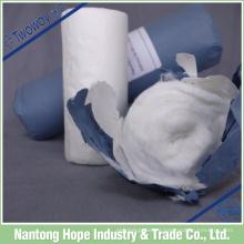 Medizinische atmungsaktive Baumwollrolle mit Kraftpapier gerollt