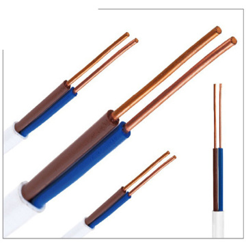 LSNH Flat XLPE Insulator PE Jacket Copper Wires