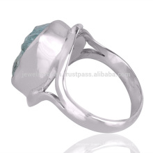 Best Wholesale Price Aquamarine Gemstone 925 Sterling Silver Ring Jewelry