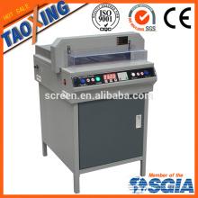 Máquina de corte de papel eléctrico / cortador de papel automático / guillotina de papel de programa