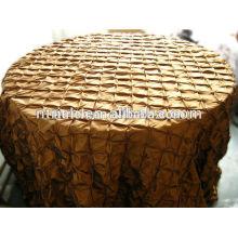 toalhas de mesa de casamento barato, tafetá catavento beliscou a toalha de mesa para casamentos