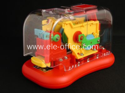 personalized transparent electric stapler