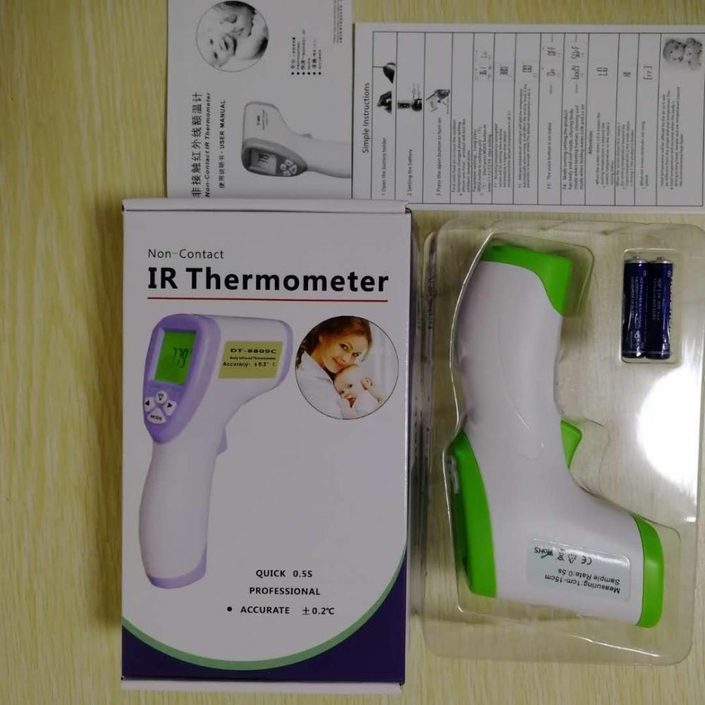 Dt8809c Infrared Forehead Thermometer 6