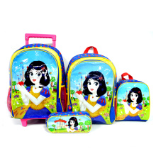 New Design 3 in 1 Kids Bookbags Schoolbag Sets With Lunch Bag Pencil Case