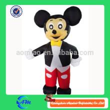 2015 cores pretas e vermelhas dos desenhos animados moventes infláveis do design novo quente da venda