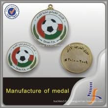 Chine Fabricant Oman Custom Football Medal