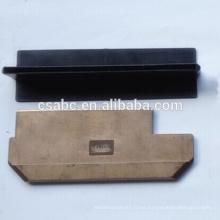 paleta de cobre actual del zapato del colector para la industria